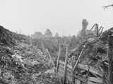 German Trench Running Through Gommecourt in France During World War I Photographic Print by Robert Hunt