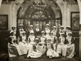Laundry Staff at Whittingham Asylum, Near Preston, Lancs Photographic Print by Peter Higginbotham