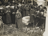 Chanakkale - Prayers Being Said Near a Well Photographic Print