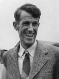 Sir Edmund Hillary, Portrait, Returning from the Everest Expedition Photographic Print