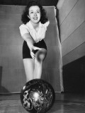 Peggy Moran, 10-Pin Bowl Photographic Print