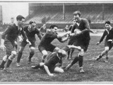 Rugby Match Middlesex Photographic Print
