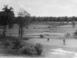 Putting on Coombe Hill Golf Course, Surrey Photographic Print