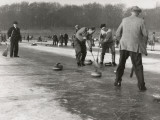 Curling on Loch Leven Photographic Print