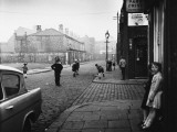 Playing Cricket in the Street - Salford 1962 Photographic Print by Shirley Baker