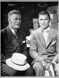 Jack Dempsey and Gene Tunney, 1926 Photographic Print