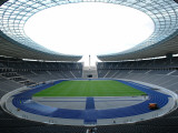 Interior of the Olympic Stadium, Berlin, Germany Photographic Print
