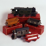 Set of Hornby Toy Trains and Rolling Stock Photographic Print
