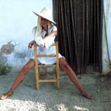Retro Fashion Model Lámina fotográfica