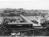 Bideford Station and River Torridge, North Devon Photographic Print