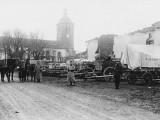 Materiel Supplies in Billy, South Longuyon before World War I Photographic Print by Robert Hunt