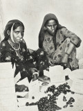 Muscat, Oman - Two Women Pack Dates for Export into Small Boxes Photographic Print