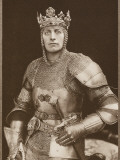 Lewis Waller as Henry V Photographic Print