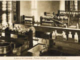 Part of the Chemistry Laboratory at the Victoria College, Alexandria, Egypt Photographic Print