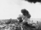 Soldiers Using a Flamethrower Against a Tank During World War I on the Western Front Photographic Print by Robert Hunt