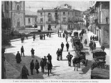 Piazza E Municipio at Monreale, at the Time of the 1894 Insurrection Photographic Print