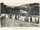 Muslims Praying in Freetown, Sierra Leone, West Africa, Photographic Print