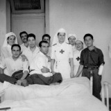 Nurses and Patients in Italy Photographic Print by Vanessa Wagstaff