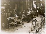 Paris Cafe Ext Reproduction photographique