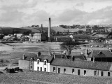 A Fine View of Inverkeithing, Fifeshire, Scotland, Showing the Paper Mills Photographic Print