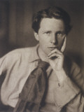 Rupert Brooke English Writer, in 1913 Photographic Print