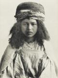 Pretty Algerian Nomadic Girl Reproduction photographique