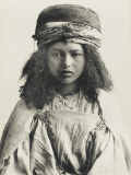 Pretty Algerian Nomadic Girl Photographic Print