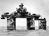 Maunsell Sea Fort, Thames Estuary; Second World War, 1944 Photographic Print