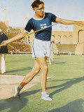 Javelin Won by Jarvinen (Finland) 72.71M Photographic Print