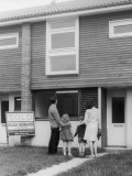 Buying a House 1960s Photographic Print