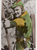 Errol Flynn as Robin Hood Photographic Print