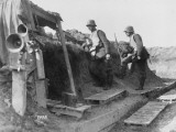 German Observation Post in a Trench During World War I on the Western Front Photographic Print by Robert Hunt