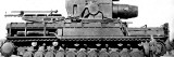 German Self-Propelled Mortar, Second World War, 1945 Photographic Print