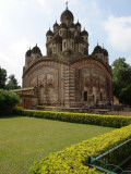 Krishna Chandra Mandir Temple, Kalna, West Bengal, India Photographie