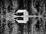 Grey Owl's Cabin, Saskatchewan, 1934 Photographic Print