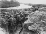 German Soldiers on the Aisne, Western Front During World War I Photographic Print by Robert Hunt