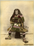 Japanese Actor in the Costume of a Samurai Warrior Photographic Print