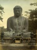 Great Statue of Buddha Daibutsu at Kamajura, Japan, Photographic Print