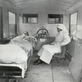 Mab Ambulance Interior, London Photographic Print by Peter Higginbotham