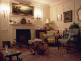 Little Girl in a Sitting Room, St Albans Photographic Print by Vanessa Wagstaff