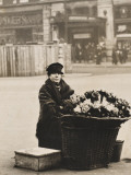 Flower Seller, Piccadilly Photographic Print