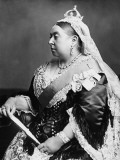 Queen Victoria in 1883 Photographic Print