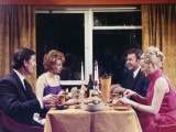 1960s Dinner Party Photographic Print by Heinz Zinram
