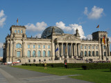 Front View of the Reichstag Building, Berlin, Germany Photographic Print