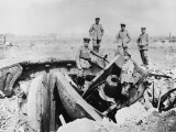 Destroyed Gun Cupola at Fort Loncin Near Liege During World War I Photographic Print by Robert Hunt