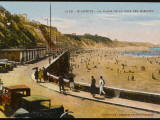 Biarritz: View of the Beach, from the Cote Des Basques Photographic Print
