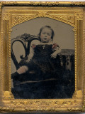Photographic Portrait of a Child Photographic Print by Vanessa Wagstaff
