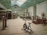Gymnasium, Princess Mary's Hospital, Margate, Kent Photographic Print by Peter Higginbotham