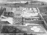 Roman Villa on the Isle of Wight Photographic Print