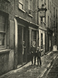 East End Doss House, London Photographic Print by Peter Higginbotham